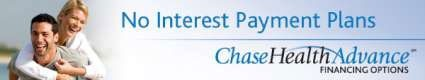 No Interest Payment Plans through Chase Health Advance
