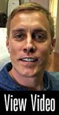 Video Testomonial showing a man